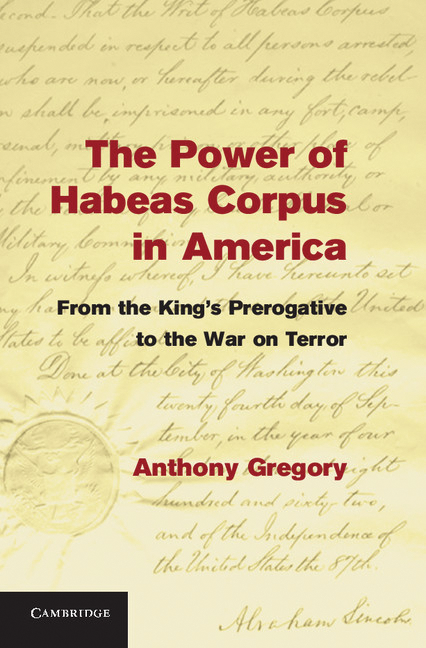habeas corpus and the war on Kidsnetau - encyclopedia  writ of habeas corpus  suspension of habeas corpus during american civil war in 1864  habeas corpus was suspended on april 27,.