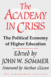 The Academy in Crisis