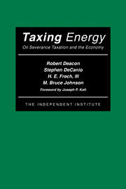 Taxing Energy
