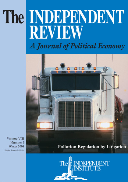 Political Environmentalism: Going behind the Green Curtain (HOOVER INST PRESS PUBLICATION)