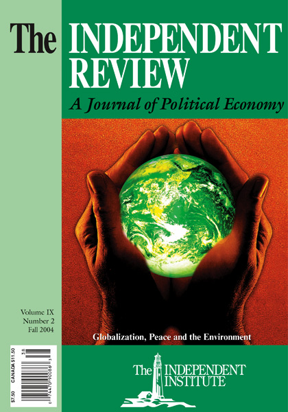 the diffusion of prosperity and peace by globalization the  the diffusion of prosperity and peace by globalization the independent  review the independent institute